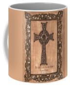 Celtic Cross Coffee Mug by Debbie DeWitt