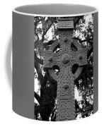 Celtic Cross In Emmet Park Coffee Mug