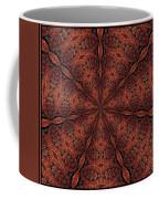 Celtic Ribbons Tile K7-2 Bronze Coffee Mug