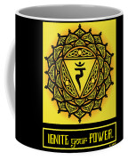 Celtic Tribal Solar Plexus Chakra Coffee Mug