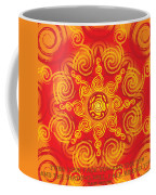 Celtic Tribal Sun Coffee Mug