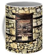 Cement Factory Window Coffee Mug