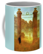 Cemetary At Dusk Coffee Mug