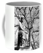 Cemetary Statue B-w Coffee Mug