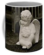 Cemetery Angel Coffee Mug