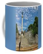 Cemetery Entrance And Lovejoy Monument  Coffee Mug
