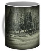 Cemetery In The Woods Coffee Mug