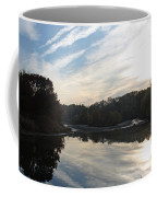 Centennial Lake Autumn - Great View From The Bridge Coffee Mug