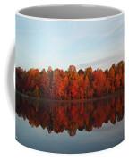 Centennial Lake Autumn - In Full Autumn Bloom Coffee Mug