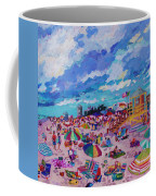 Center Panel Of Triptych Busy Relaxing Coffee Mug