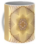 Center Star-flower Coffee Mug