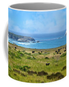 Central Coast Panorama - Hwy 1 Coffee Mug by Lynn Bauer