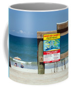 Central Florida Beach Warning Coffee Mug