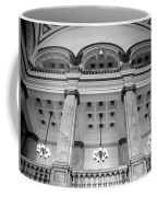 Central Library Milwaukee Interior Bw Coffee Mug