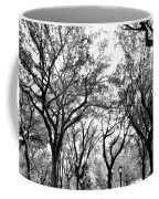 Central Park Nyc In Black And White Coffee Mug