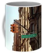 Central Park West Coffee Mug