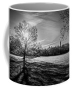 Central Park's Sheep Meadow - Bw Coffee Mug