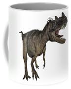 Ceratosaurus Dinosaur Roaring Coffee Mug