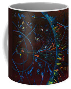 Cern Atomic Collision  Physics And Colliding Particles Coffee Mug