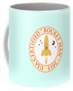 Certified Rocket Man Coffee Mug by Gaspar Avila