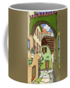 Cesky Krumlov Masna Street Coffee Mug