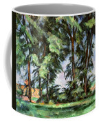 Cezanne: Trees, C1885-87 Coffee Mug