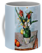 Cezanne: Tulips, 1890-92 Coffee Mug