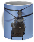 Ch-47 Chinook Flies Over Playas Coffee Mug