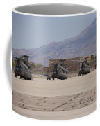 Ch-47 Chinook Helicopters On The Flight Coffee Mug