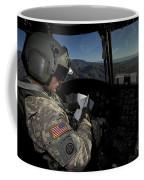 Ch-47 Chinook Pilot Refers Coffee Mug