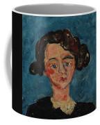 Chaim Soutine 1893 - 1943 Portrait De Jeune Fille Paulette Jourdain Coffee Mug