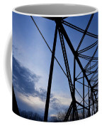 Chain Of Rocks Bridge Coffee Mug