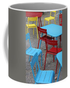 Chairs In Bryant Park Coffee Mug by Lauri Novak