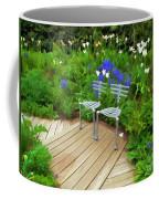 Chairs In The Garden Coffee Mug