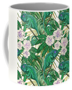 Chameleons And Camellias  Coffee Mug