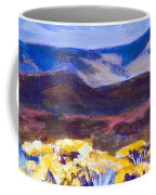 Chamisa And Mountains Of Santa Fe Coffee Mug