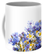 Chamomile And Cornflower Mix Coffee Mug