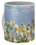 Chamomile Nature Spring Scene Coffee Mug