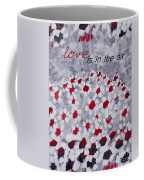 Champs De Marguerites - Love Is In The Air - Red -a23a3 Coffee Mug