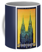 Champagne, Reims, Cathedral, France Coffee Mug
