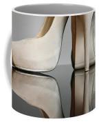 Champagne Stiletto Shoes Coffee Mug
