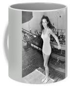 Champion Diver Vicki Draves Coffee Mug