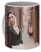 Chance Meeting In Fan Tan Alley Coffee Mug