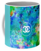 Chanel Blue White Red Black 10 Coffee Mug