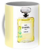 Chanel N 5 Perfume Poster Coffee Mug