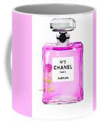 Chanel N 5 Perfume Print Coffee Mug
