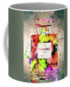 Chanel No. 5 Colored  Coffee Mug