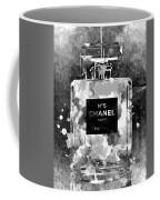 Chanel No. 5 Dark Coffee Mug