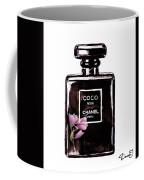 Chanel Noir Magnolia Pink Coffee Mug