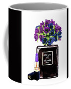 Chanel Noir Perfume Bottle Coffee Mug